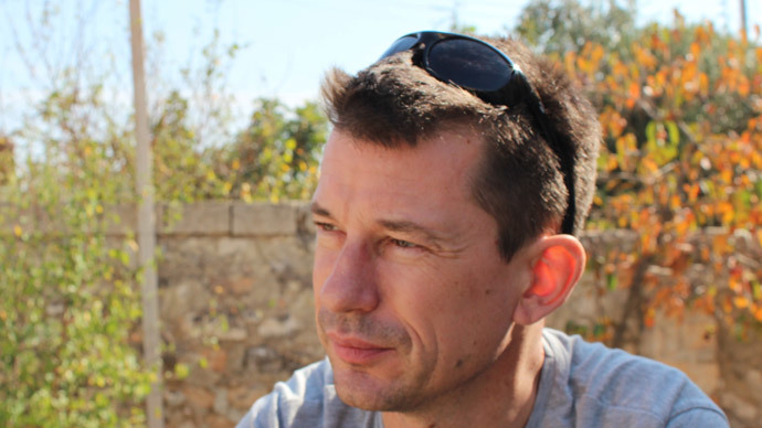 ISIS hostage John Cantlie tells family: 'Let me go, get on with your lives'
