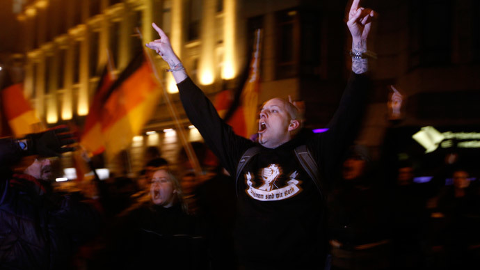 Pegida UK promoter has ties with far right, wants to 'ban Islam'