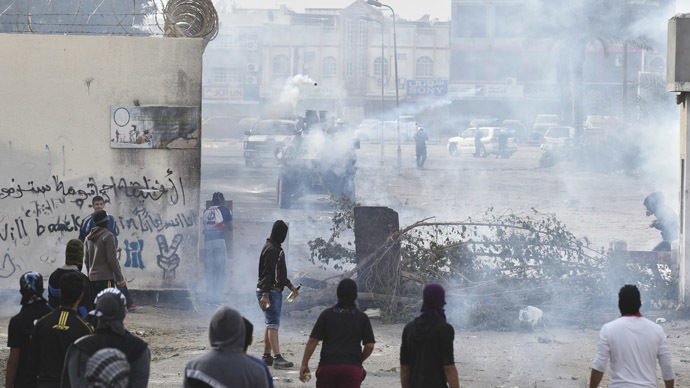 Strike of Defiance: Tear gas floods Bahrain as protests mark 2011 uprising (PHOTOS, VIDEO)