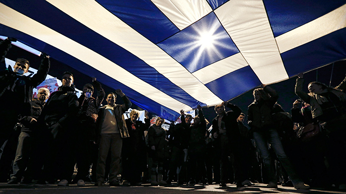 'Dying out of poverty!' Thousands gather for anti-austerity rally in Athens (VIDEO)