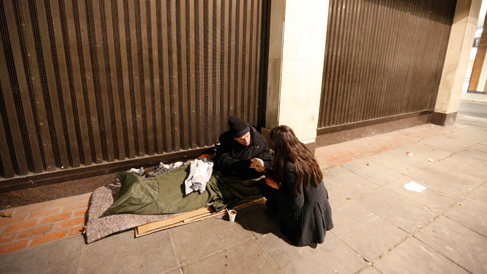 'Disgusting behavior': Outrage as Selfridges installs 'anti-homeless' spikes