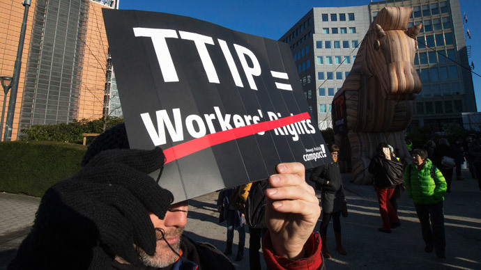 'What part of no don't you understand?' TTIP critics target EU trade commissioner
