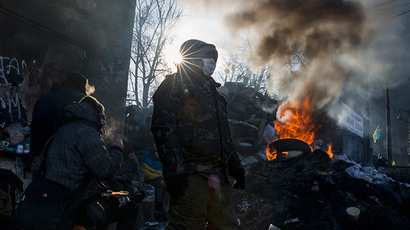 10 dramatic videos from Ukraine's Maidan riots in 2014