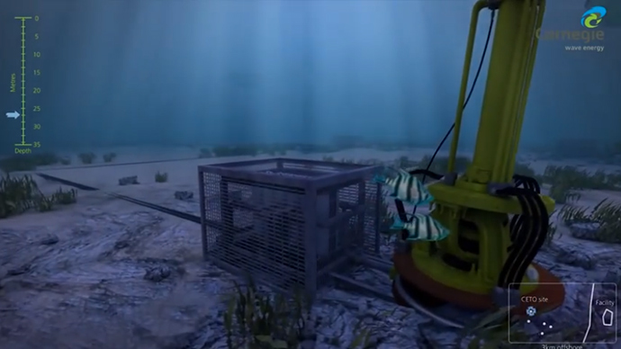 World first commercial wave power station switched on in Australia