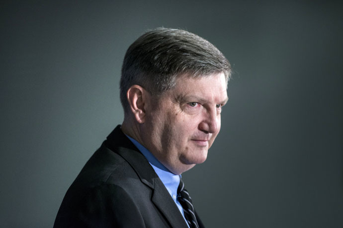 New York Times investigative reporter James Risen (AFP Photo/Brendan Smialowski)