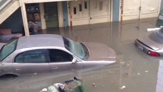 Cars submerged as pipe burst floods Hollywood Hills (PHOTOS, VIDEO)