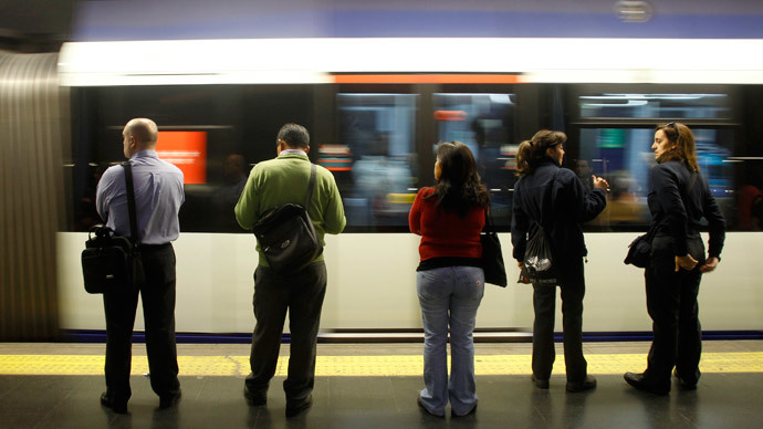 'Check gays for tickets more than others' – scurrilous Spanish metro leaflet