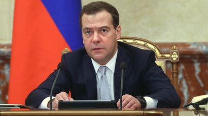 PM Medvedev orders commencement of gas deliveries to embattled Donbass