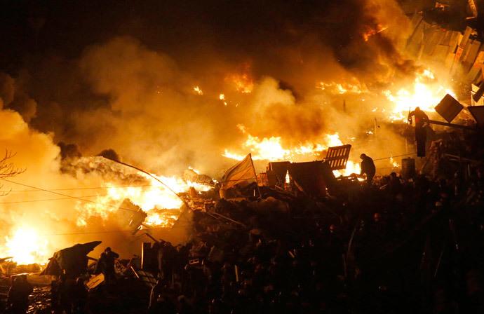 (Reuters / David Mdzinarishvili)