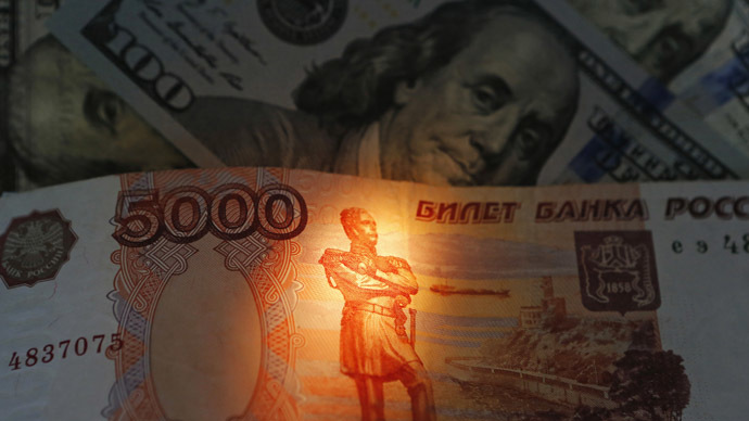 Record ruble rally on back of higher oil & Ukraine stabilization