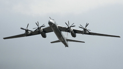 Strategic bomber Tu-95MS. (RIA Novosti/Anton Denisov)