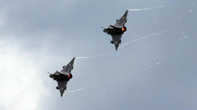 Dassault Mirage 2000N aircrafts. (Reuters/Denis Balibouse)