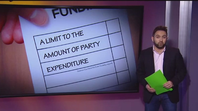 'Dirty' Money: Political parties face public scrutiny over 'suspect' donations (VIDEO)