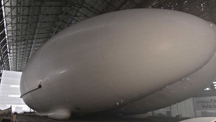 ​Lift off: UK govt buys world's biggest airship