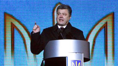 Ukraine's President Petro Poroshenko.(Reuters / Valentyn Ogirenko)