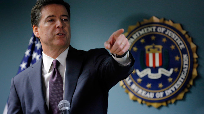 FBI chief absent from DC terror summit