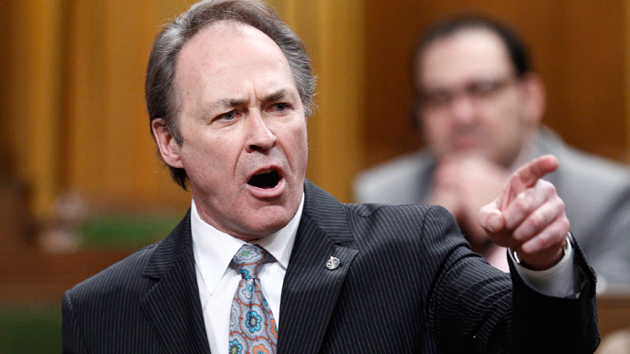 Brief intermission: Canadian MP blames tight underwear for almost missing vote