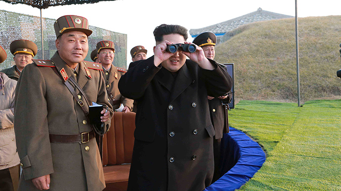 North Korea holds missile and artillery live firing drill