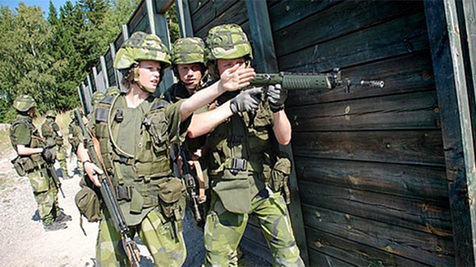 Swedish Army to have 'gender advisers', triggers public debate
