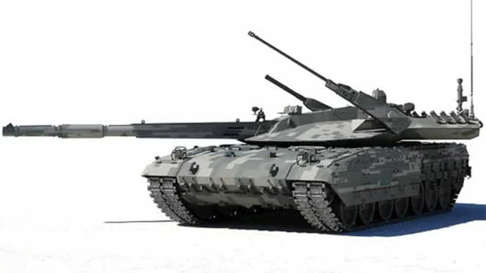 Russia's new Armata tank on Army 2015 shopping list