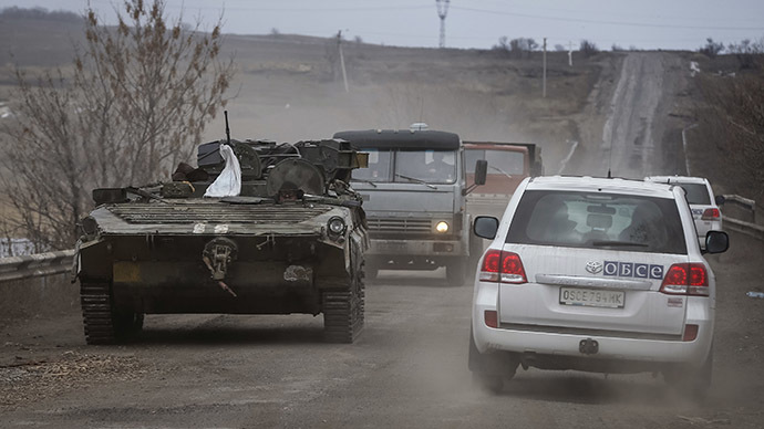 OSCE mission gets access to Debaltsevo in E. Ukraine, Kiev and militia swap prisoners