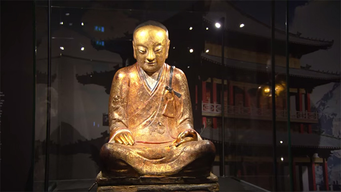 CT scan reveals 1,000 yo mummy inside statue of Buddha