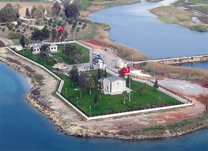 Tomb of Suleyman Shah, Syria (Image from globalresearch.ca)
