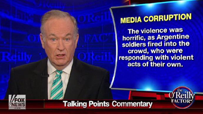 Bill O'Reilly (Screenshot from youtube.com)