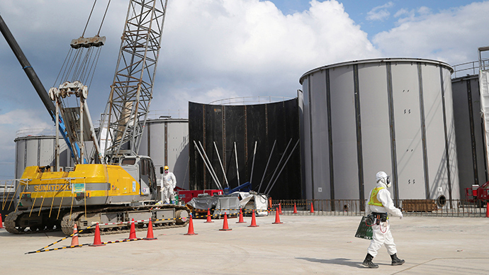 Fresh leak at Fukushima nuclear plant sees 70-fold radiation spike