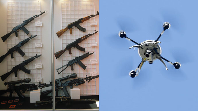 Kalashnikov looking into drones and boats production