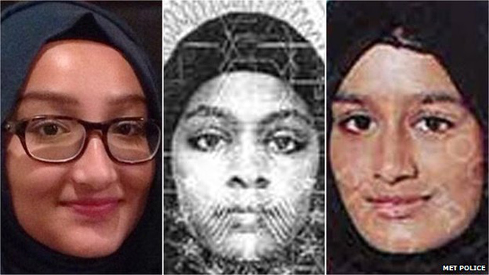 Police fail to stop 3 UK schoolgirls joining ISIS despite social media clues