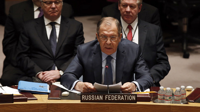 Lavrov: Time to decide if we want UN focused & effective or on the sidelines