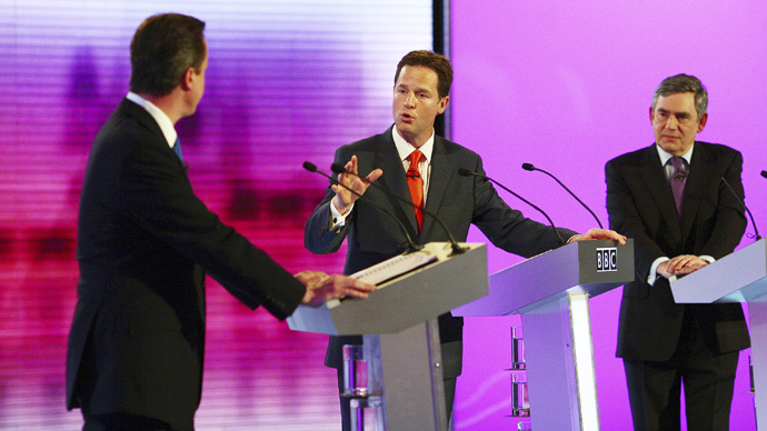 UK election debate: UKIP, Greens, SNP & Plaid Cymru earn broadcast rights