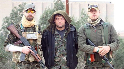 Volunteers: Jamie Read, left, and James Hughes, right, were fighting IS in Syria (Photo from facebook.com)