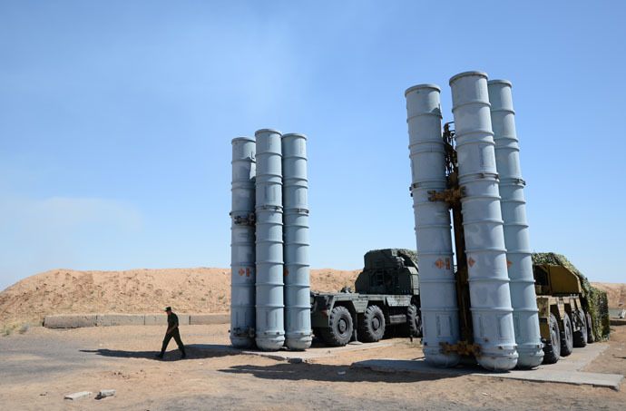 S-300 surface-to-air missile system (RIA Novosti/Pavel Lisitsyn)
