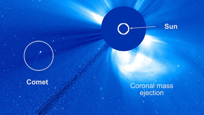 Solar flyby: Daredevil comet circles sun, surprising astronomers