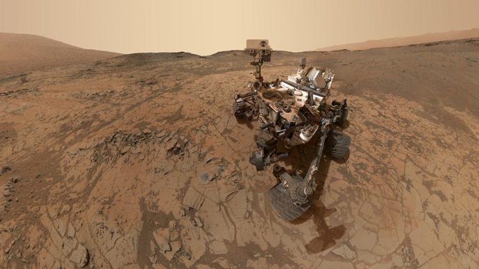 Epic Mars selfie looks back on NASA Curiosity rover's last 5 months