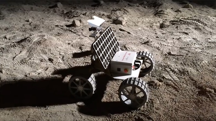 Rovers will race to Moon in first ever lunar 'Formula 1 kind of contest'