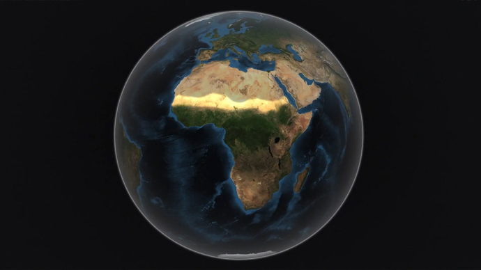NASA video shows Sahara Desert fertilizing Amazon Rainforest with dust