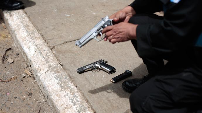 Washington state police shot 17 times at Hispanic man accused of throwing rocks