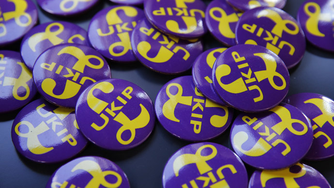 'Disillusioned': UKIP's LGBT chairman quits, says party isn't 'gay friendly'