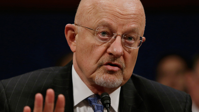 Director of US National Intelligence James Clapper (Reuters / Gary Cameron)