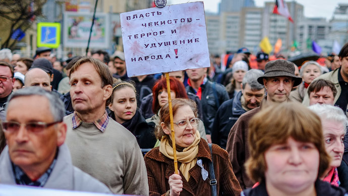 'Opposition is necessary...but we wouldn't vote for them,' most Russians hold