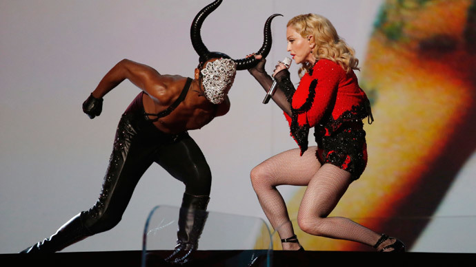 ​Europe 'feels like Nazi Germany,' says Madonna