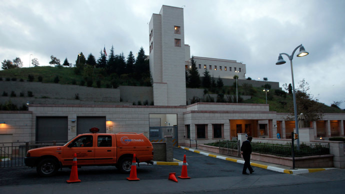 Suspected suicide bomber detained nr US consulate in Istanbul - reports