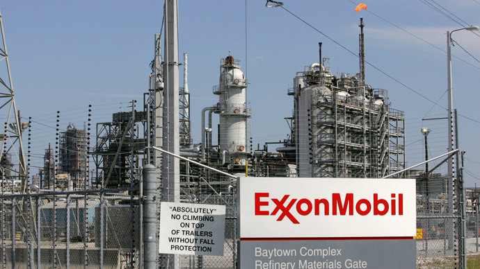 ExxonMobil admits $1bn lost from anti-Russia sanctions