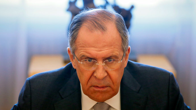 Russian Foreign Minister Sergei Lavrov.(Reuters / Maxim Shemetov)