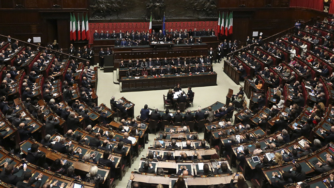 Italian MPs vote for Palestinian state, but conditions 'disappoint' PLO