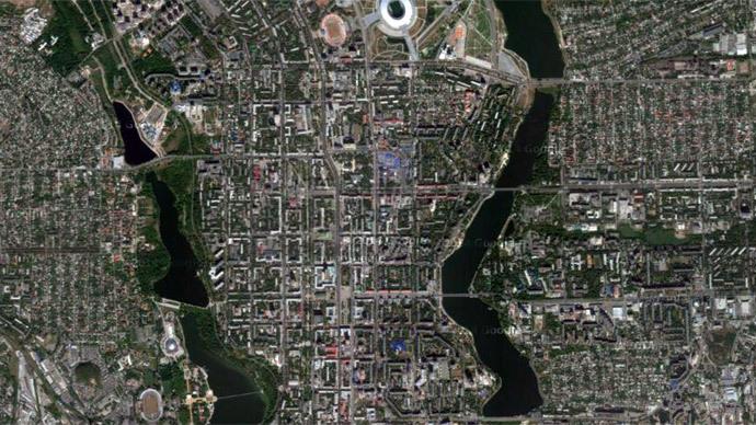 Washington Supplying Kiev With Satellite Intelligence Of Conflict - Google map via satellite