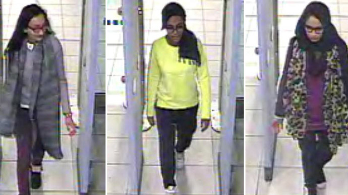 CCTV footage captures 3 UK schoolgirls in Turkey en route to Syria (IMAGES)